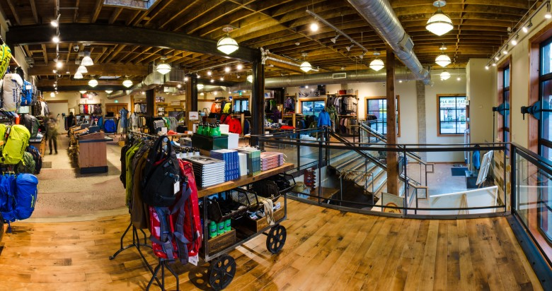 Patagonia Vancouver store interior