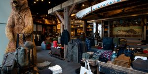 Photos of the Filson store in Boston, MA on August 16, 2018. Credit: Mark Kauzlarich/Filson